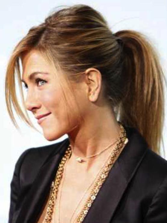 Jennifer Aniston Ponytail Hairstyles